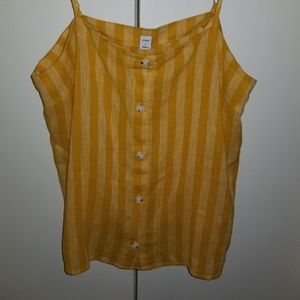 Old Navy Button up Tank